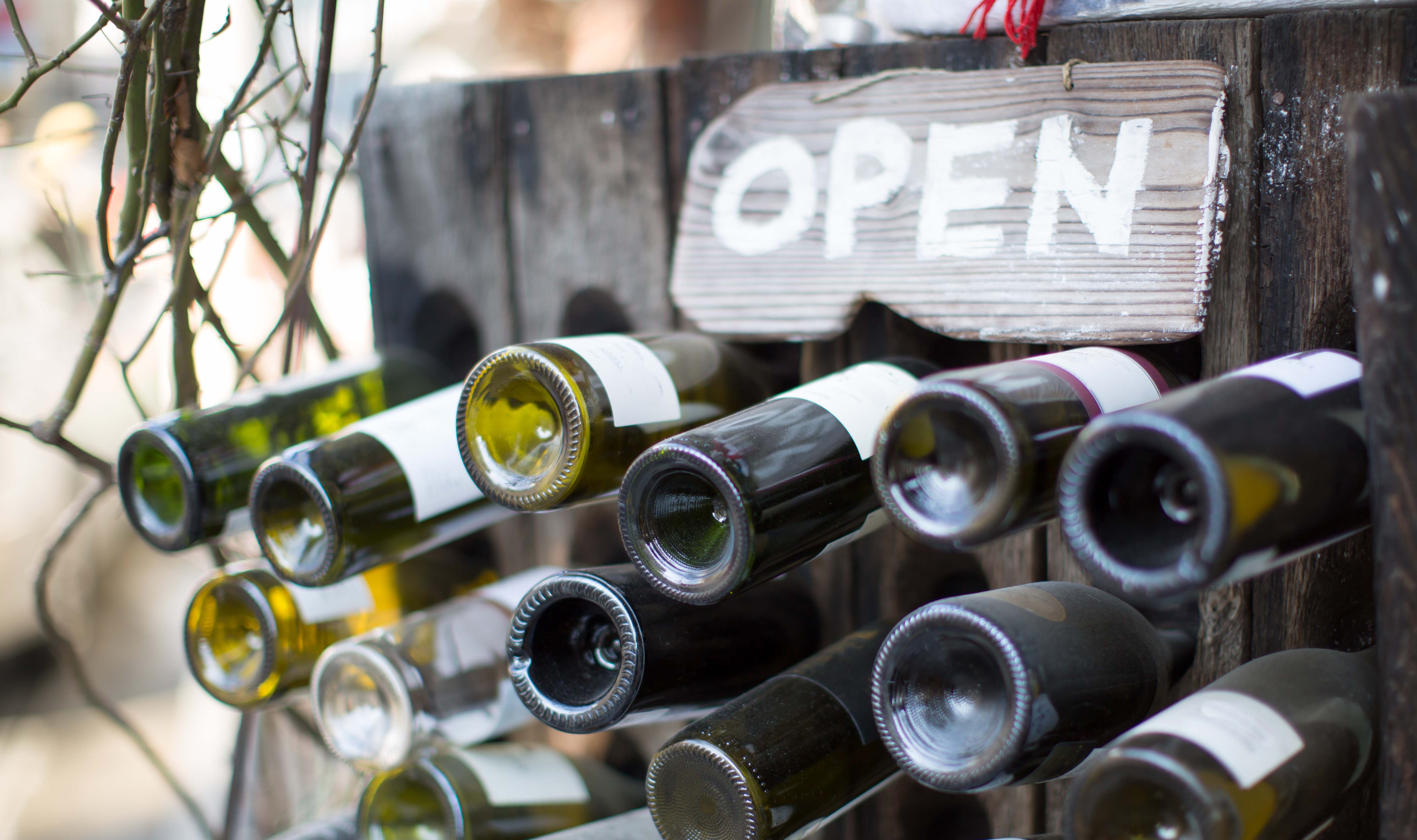 Selection of Wines for Tastings at Cellar Door